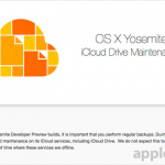 Apple warns developers about iCloud Drive maintenance, regular backups are advised