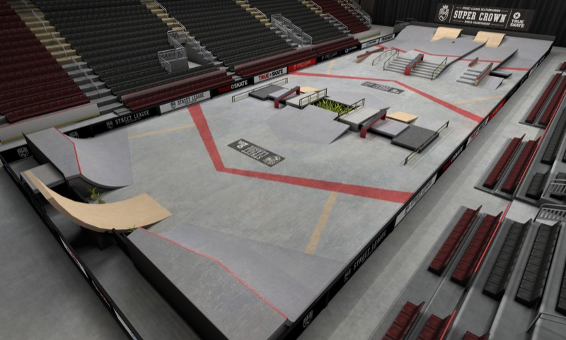 True Skate gets a new Street League course, adds support for Kamcord and goes free