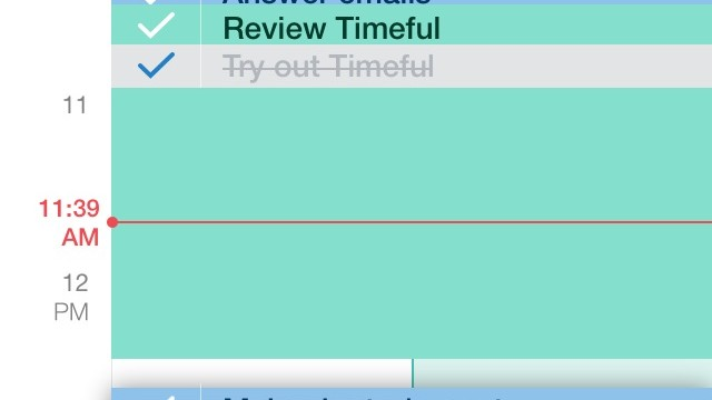 Stay on top of your schedule and tasks with Timeful, your new time assistant