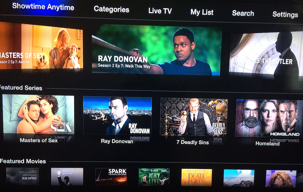The Showtime Anytime channel arrives on Apple TV