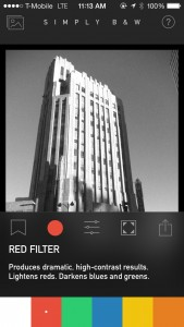 Explore the possibilities of black-and-white photography with SimplyB&W on iOS