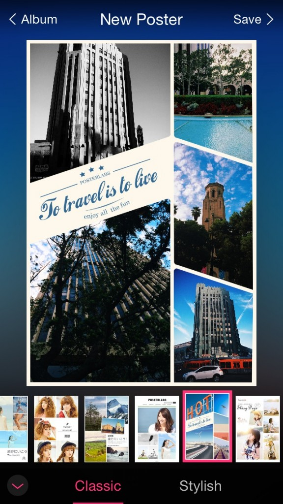 Easily make chic posters from your photos with PosterLabs
