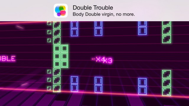 Size DOES Matter in this fast-paced rhythm-based arcade game