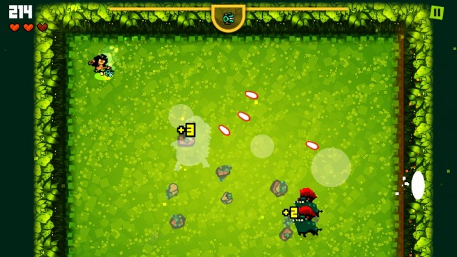 Tap to survive in Spooklands, a challenging arena-based shooter