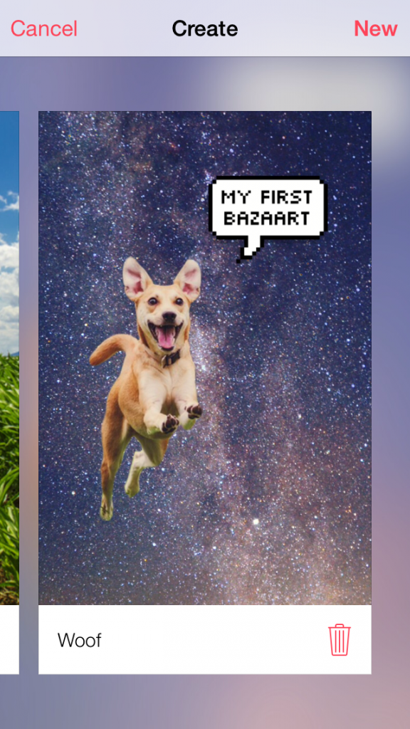Unleash your creativity in the form of awesome collages with Bazaart
