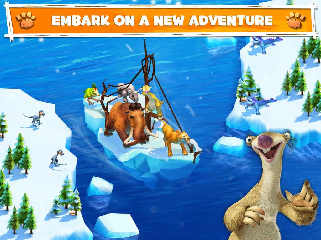 What a Scrat-astrophe! Gameloft releases Ice Age Adventures for iOS