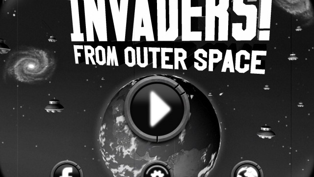 Defend the Earth in retro arcade shooter Invaders! From Outer Space