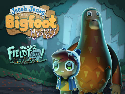 Go on a 'field tRIP' in Jacob Jones and the Bigfoot Mystery: Episode 2