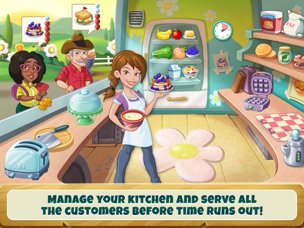 Bon appétit! Disney's Kitchen Scramble is now served on the App Store