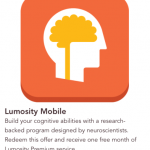 Starbucks featuring Lumosity Premium as first ever in-app purchase Pick of the Week