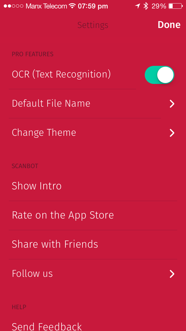 Scanbot, the best iPhone scanner app, gets 'pro' features including OCR