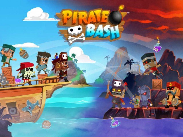 Have a blast with blockheaded buccaneers in DeNA's Pirate Bash strategy game for iOS