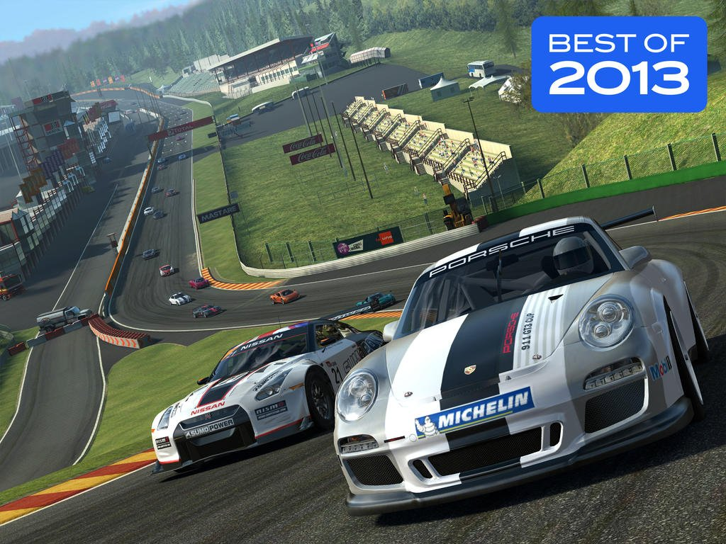 Feel the rush and take the new Speedrush TV challenge in Electronic Arts' Real Racing 3