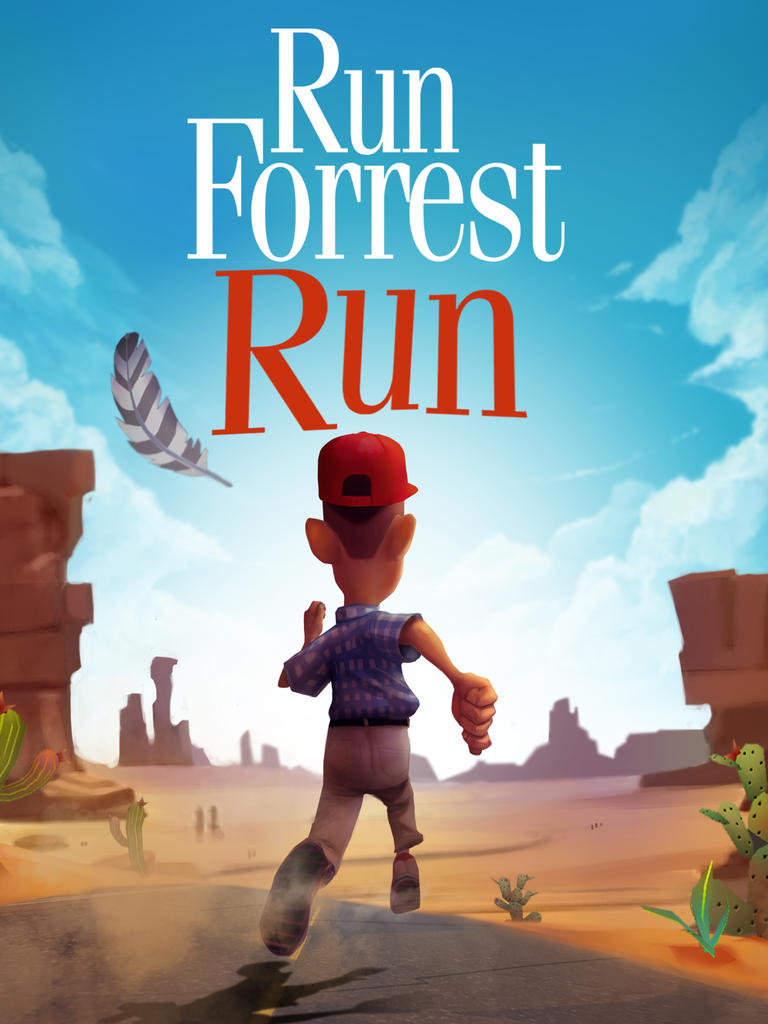 Tom Hanks' iconic Gump gets the endless running game treatment in Run Forrest Run