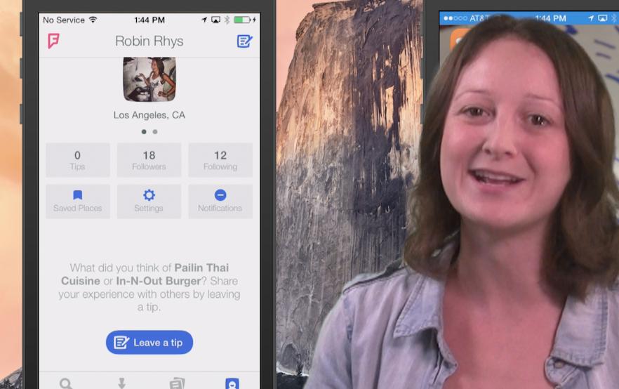AppAdvice Daily: Foursquare versus Foursquare