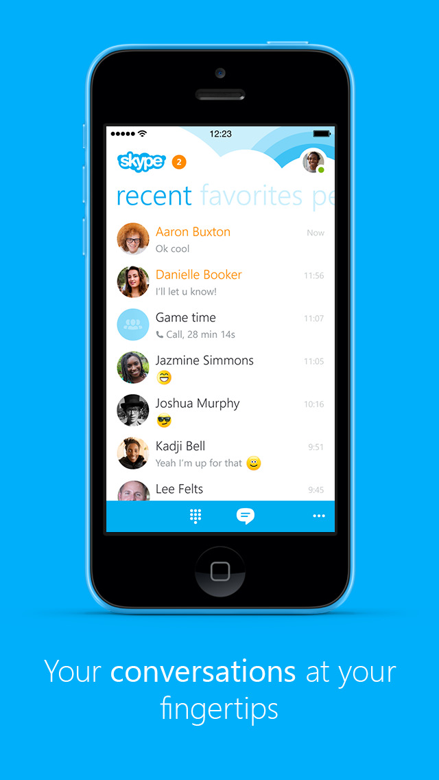 Skype chat notifications are about to get much less noisy