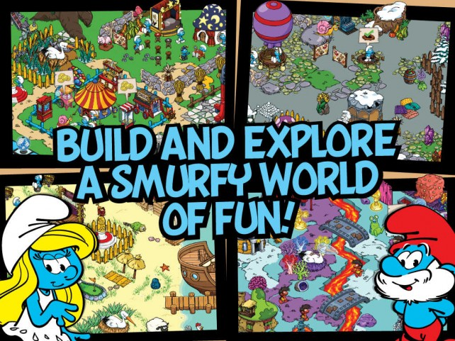 Crime doesn't pay with the arrival of Detective Smurf in the free-to-play Smurfs' Village