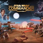 Disney's Star Wars: Commander features Luke Skywalker and Darth Vader