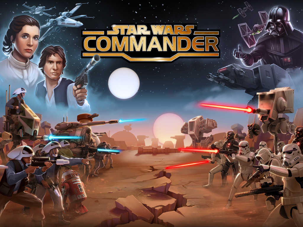 The 'Clash of Clones' officially begins in LucasArts' Star Wars: Commander for iOS