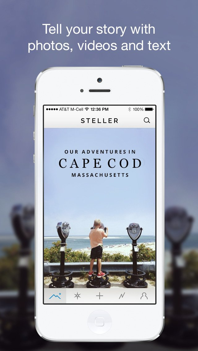 Stellar visual storytelling app Steller goes 2.0 with new design and new features