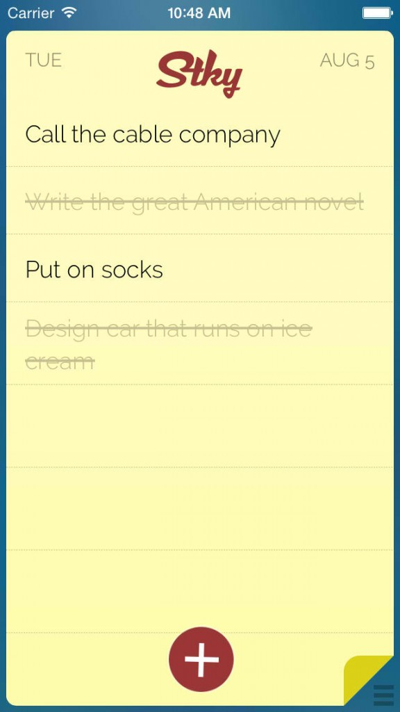 Gettin' sticky with it: Post-it note-inspired to-do app Stky goes 2.0 with new features