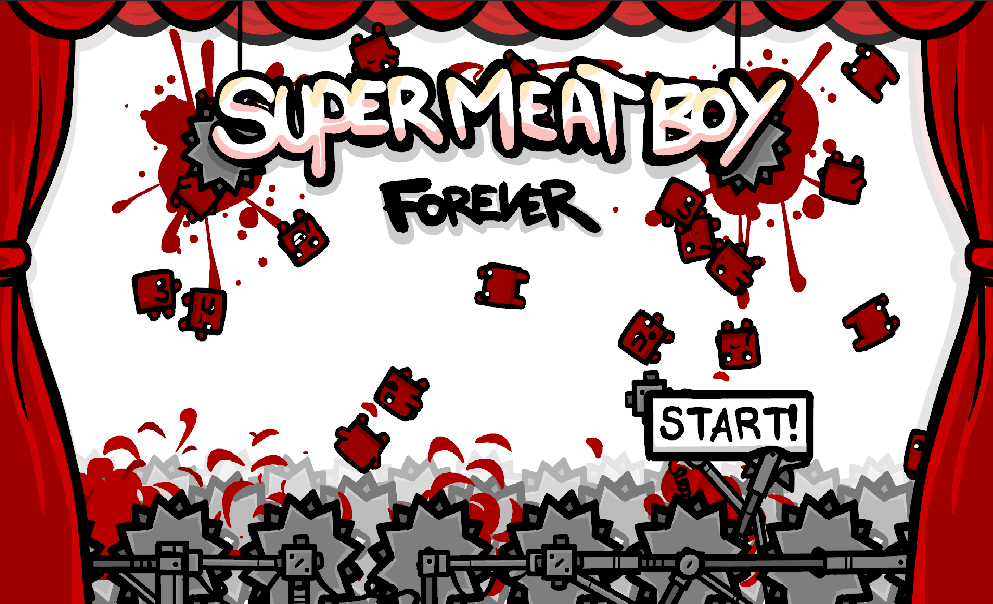 Team Meat officially announces Super Meat Boy: Forever auto-running platformer