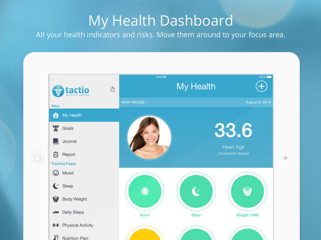 TactioHealth 6.0 offers new design plus new features and improvements