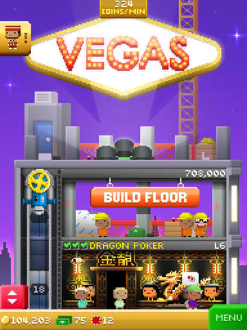 Tiny Tower Vegas will land on the App Store this Thursday, Aug. 28