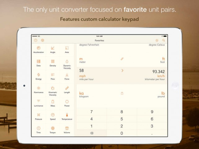 Units Convert goes 3.0 with universal support, iCloud integration and new name