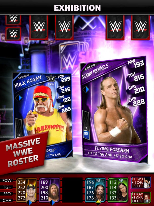 Get ready to rumble with the new WWE SuperCard card battle game from 2K
