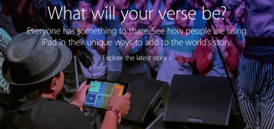 Apple debuts new 'Your Verse' iPad TV ads featuring Beijing musicians and Detroit activist