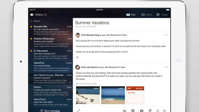 Yahoo updates Mail, Screen and Tumblr apps for iOS with new features