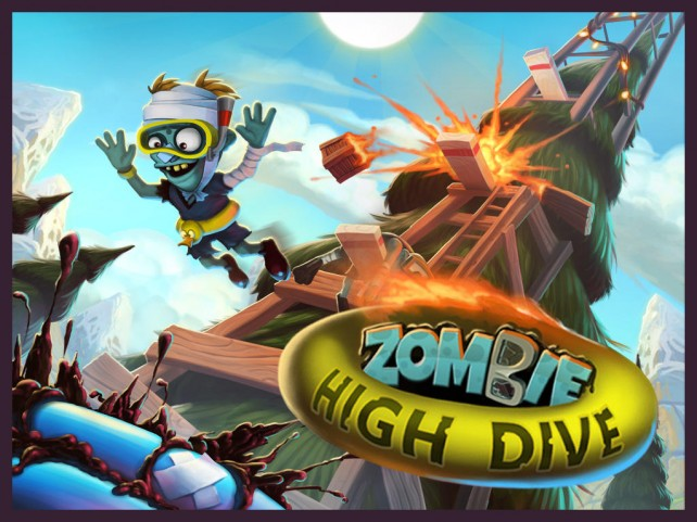 Feeling undead? Take the plunge and make a splash in Chillingo's Zombie High Dive
