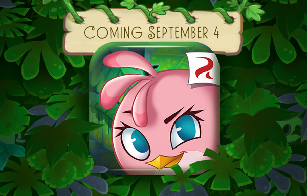 Angry Birds Stella will land on the App Store Sept. 4