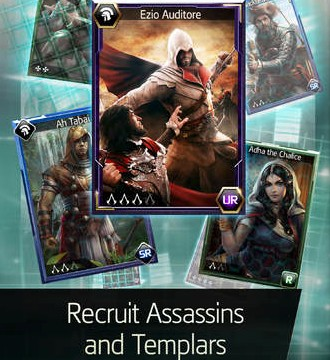 Ubisoft's card battle game Assassin's Creed Memories arrives on the App Store