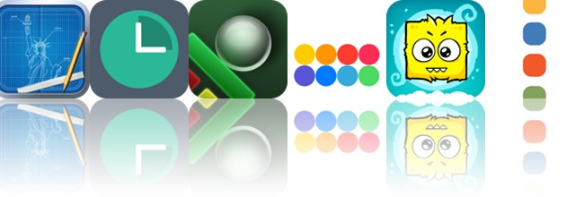 Today's apps gone free: Blueprint 3D, Clocked, Ball Breaker and more