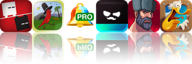 Today's apps gone free: Lub vs Dub, Striding Bird, Audiko Ringtones and more