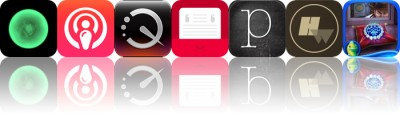 Today's apps gone free: Kotoro, PodCruncher, QuickReader and more