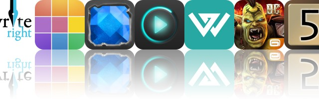 Today's apps gone free: WriteRight, Polyphonic, Cavesweeper and more