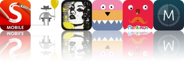 Today's apps gone free: SketchBook Pro, Ready Steady Play, Graffiti Me and more