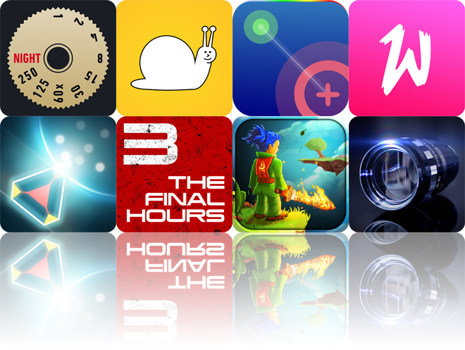 Today's apps gone free: Night Cam, SuperSlo, NodeBeat and more
