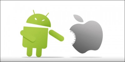 For the first time, Apple iOS usage slips below Google Android