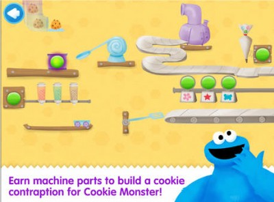 Yummy! Cookie Monster's Challenge chomps its way onto the App Store