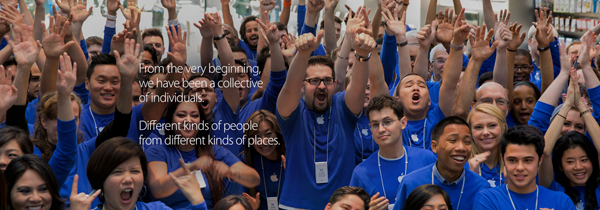 Apple releases a diversity report on its workforce