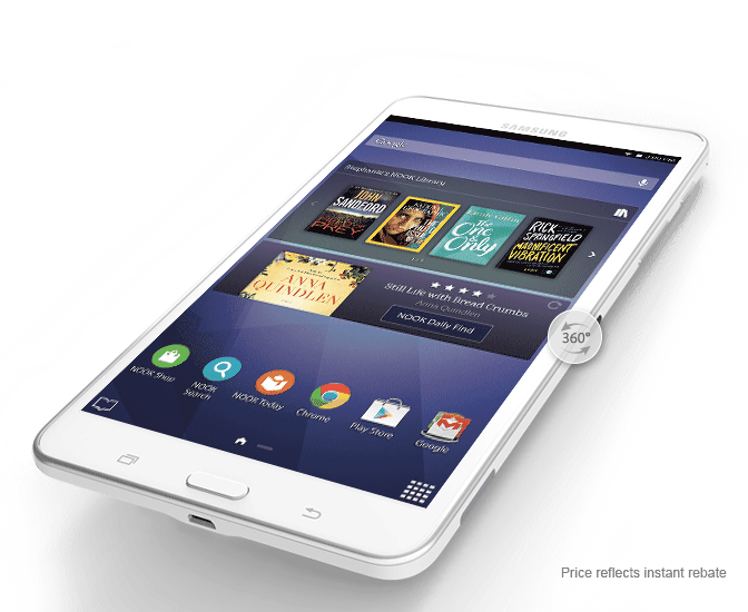 Barnes & Noble unveils the Galaxy Tab 4 NOOK tablet
