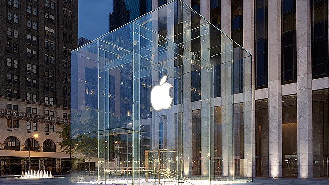 The design for the Apple Store Fifth Avenue is now patented