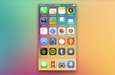 How to get the perfect iPhone home screen: Try this app arrangement theory