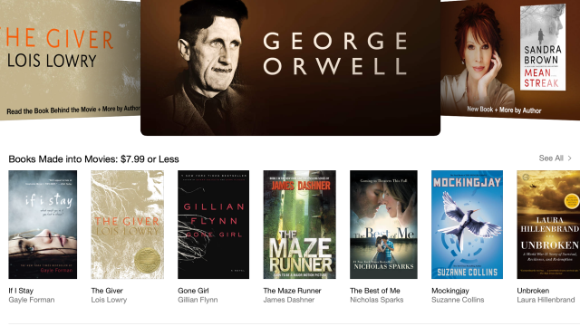Apple takes subtle jab at Amazon's 'doublespeak' with George Orwell iBooks feature