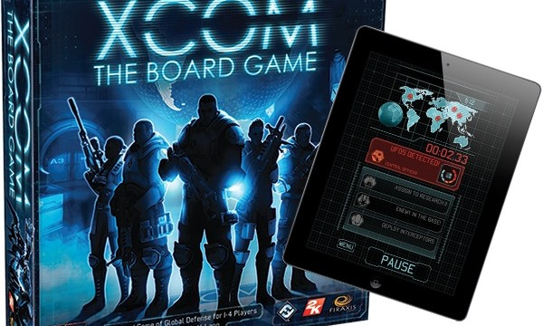 Fantasy Flight's new XCOM: The Board Game requires a companion app to play