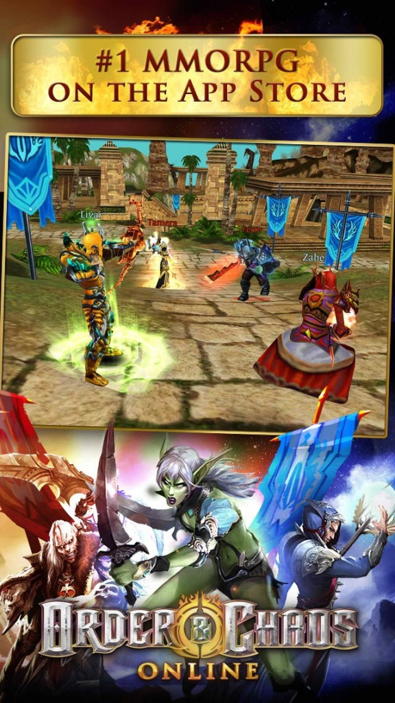 Gameloft's Order & Chaos Online goes free-to-play as it gets big anniversary update